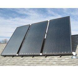 Solárne kolektory na budovách domov