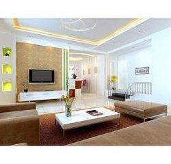 Vkusné biele obývacie steny